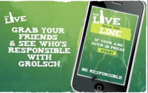 Grolsch – düz çizgide yürüme iPhone uygulaması