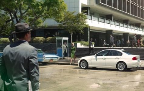 BMW'den Vanity Fair'e özel Mad Men reklamı