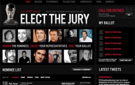 2010 Andy Awards jürisini, çalışmaları yapanlar belirliyor!