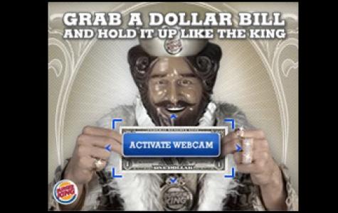 Burger King'den ilk augmented reality banner çalışması