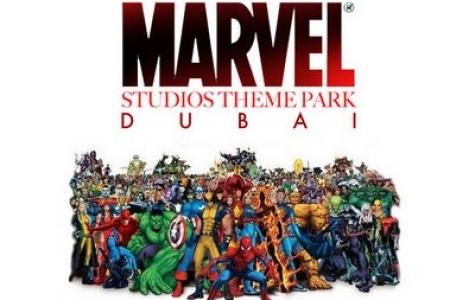 """Dubai'de """"Marvel Parkı"""""""