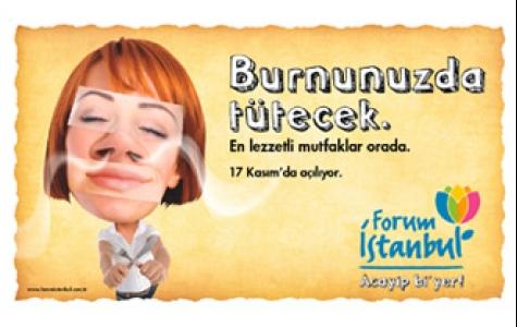 Forum İstanbul, acayip bi'yer!