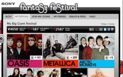 """Sony ve Last FM'den """"fantazi müzik festivali"""" oyunu"""