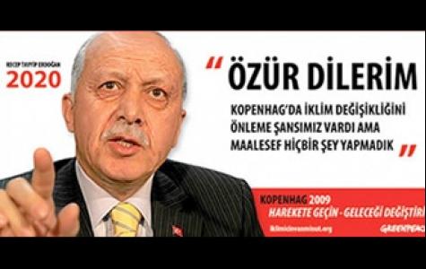 Greenpeace-Başbakan Erdoğan ve Kopenhag