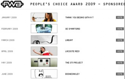 FWA 2009'un en iyi sitesini seçmek için oy topluyor
