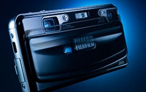 Fuji'den tüketici odaklı dünyanın ilk 3D kamera ve resim&#16