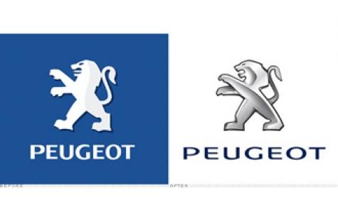 Peugeot'nun yeni logosunun dilini kedi yutmuş