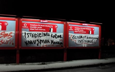 Vodafone – özgürce konuşmak istiyorum