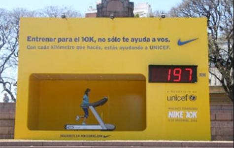 spor yap, Nike Unicef'e bağış yapsın…