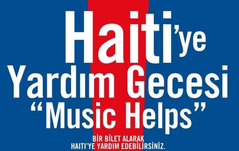 Haiti'ye Yardım Gecesi // Music Helps