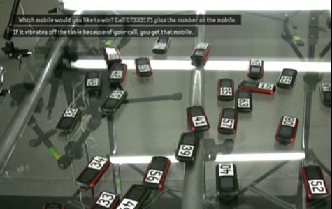 Samsung B2100 cep telefonu için titreten kampanya
