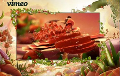 Fritolay Tostitos Salsa Sos Vimeo 'takeover' (mecra kullanımı)
