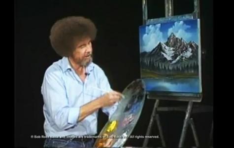 Efsane Ressam Bob Ross İş Bankası Reklamında