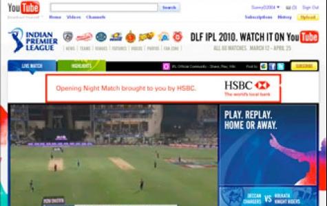 YouTube'da canlı kriket maçı yayınlanıyor!