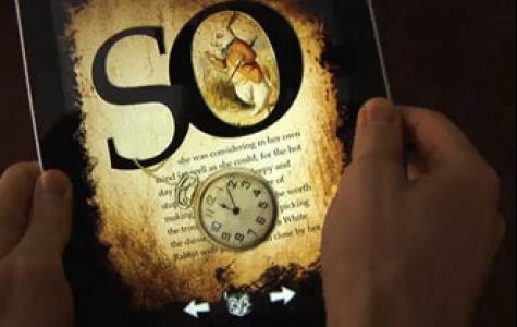 'Alice Harikalar Diyarında' iPad uygulaması