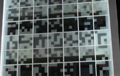 QR Kodlarla Kodlanmış Alışveriş Merkezi