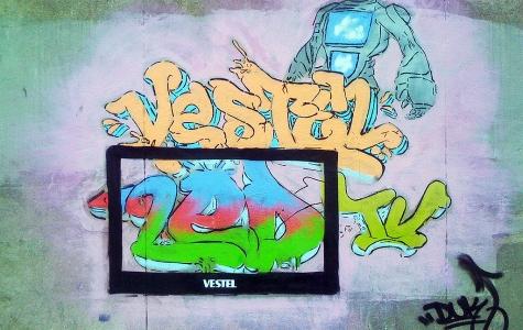 Vestel LED TV Graffiti