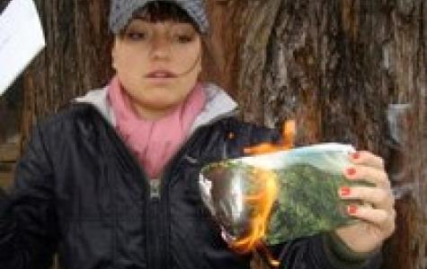 WWF – bilinçlendirme kampanyası için yanar döner zarf