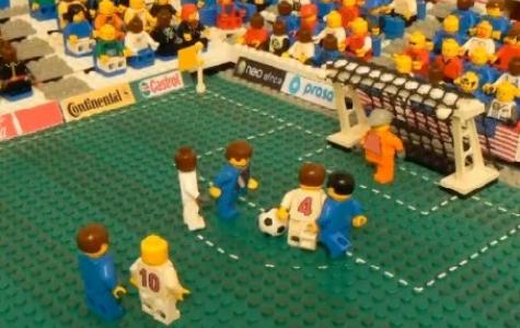 ABD – İngiltere maçı: Lego versiyon