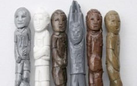 Diem Chau, pastel boya heykel sanatçısı
