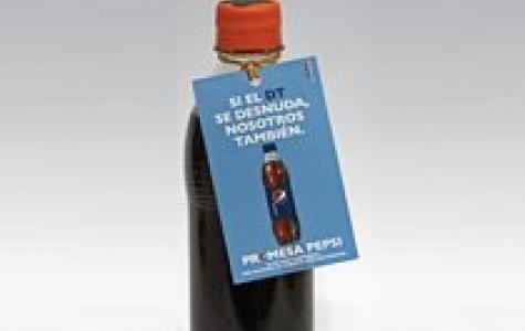 Arjantin Dünya Kupası'nı kazanırsa Pepsi etiketsiz satışa başlıyor