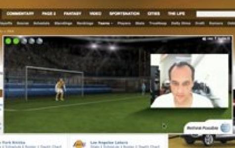 AT&T Dünya Kupası Augmented Reality Banner