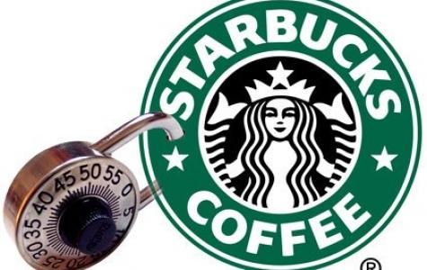 Starbucks Türkiye de bir ilke imza attı  **Şifreli Tuvalet**
