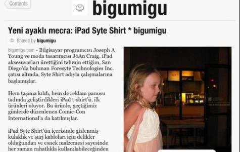 Bigumigu'yu iPad'inizde Flipboard ile okuyun