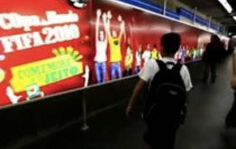Coca Cola'dan 3 boyutlu 'meksika dalgası' paneli