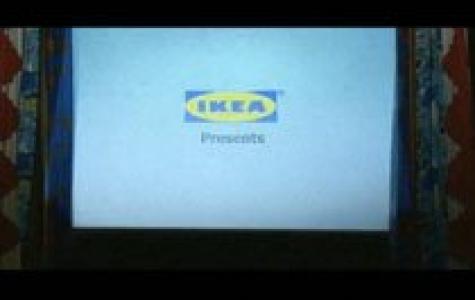 Ikea'dan sinemada perde şovu!