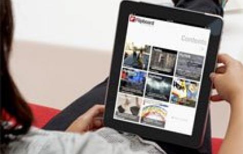 Flipboard, iPad severe sosyal medya magazin dergisi