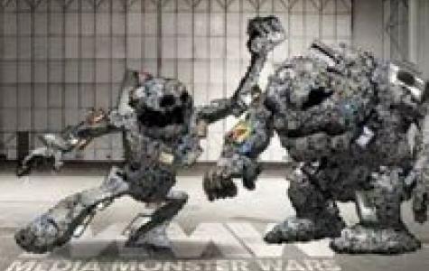 Sony Vaio medya canavarları savaşı (Facebook uygulaması)
