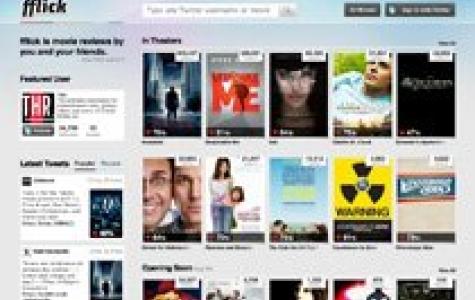 IMDB'nin film skorlarına güvenmeyenlere Twitter datası ile çalışan 'fflick'