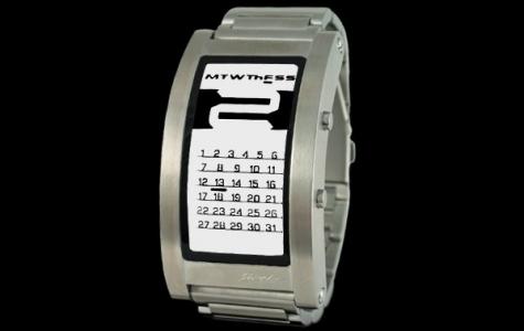 Elektronik mürekkep kol saatinde