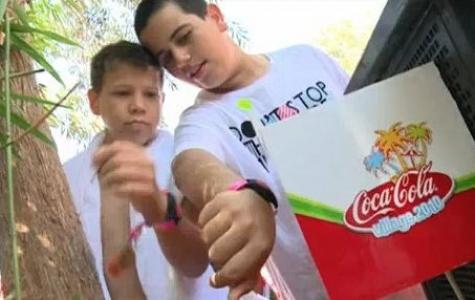 Facebook hesabı ile girilen ücretsiz Coca Cola yaz kampı!
