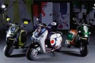Mini'den yumuk motosiklet :: MINI Scooter E Concept