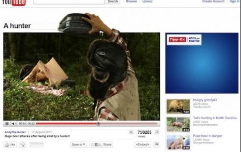 Tipp-Ex Youtube interaktif reklamları