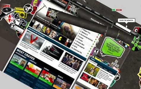 DJ Hero için site döndüren banner