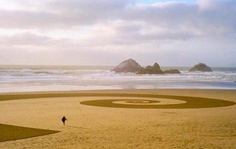 Jim Denevan: kum resimleri