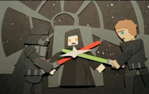Star Wars – 2 dakikalık kağıt animasyon özeti