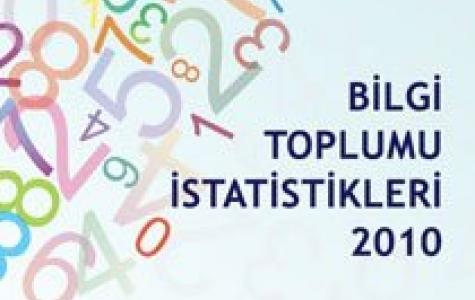 Türkiye'de internet kullanımı – Bilgi Toplumu İstatistikleri 2010