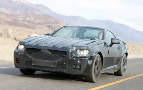 Mercedes-Benz yeni SLK'da sihirli bir tavan