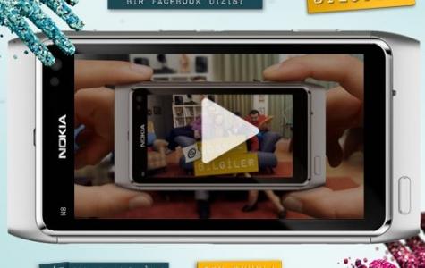 Nokia N8 ile dizi: @sosyal Bilgiler