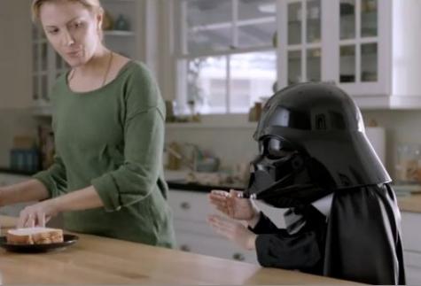 """Volkswagen Passat """"The Force"""" Bıdık Darth Vader"""