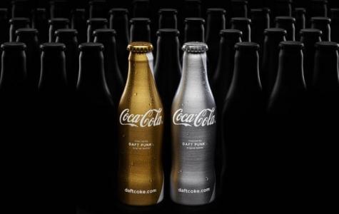Coca-Cola limited Daft Punk şişeleri