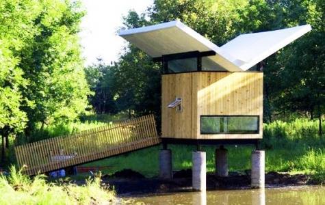 Modern bir meditasyon ve çay evi: Victor