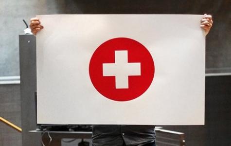 Depremden sonra Japon bayrağı temalı afişler