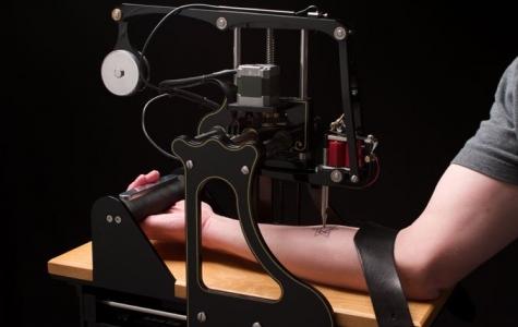 Auto Ink: Rastgele dövme makinesi