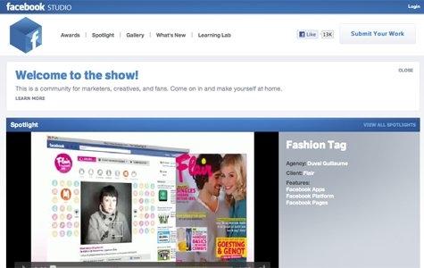 Facebook projelerini tek adresten takip edin: Facebook Studio