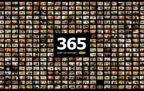 IKEA – 365 gün boyunca her gün farklı reklam filmi